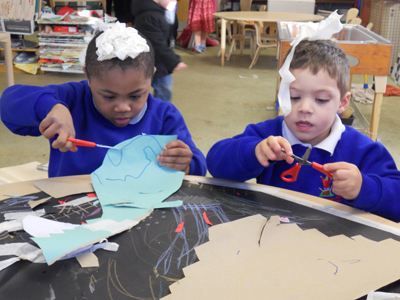 Artist in Residence at Speedwell Nursery School and Children's Centre