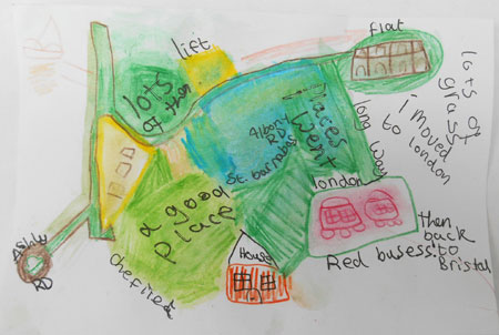 Amira's map