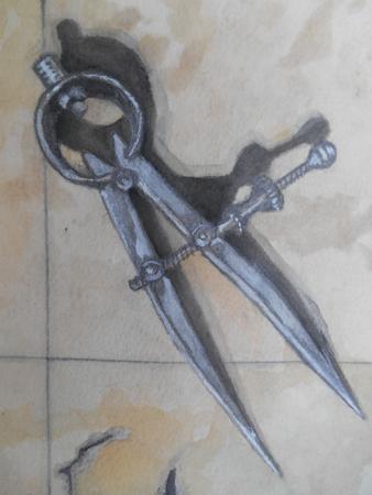 Compasses detail